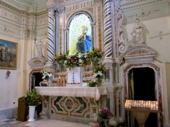 Santuario della Madonna della Montagna di Polsi - Altare maggiore