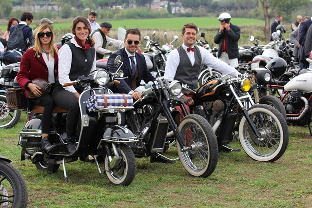 The 2017 Distinguished Gentleman's Ride