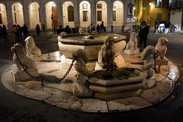 Bergamo Città Alta Fontana Contarini