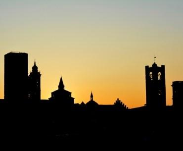 Bergamo Città Alta Panorama
