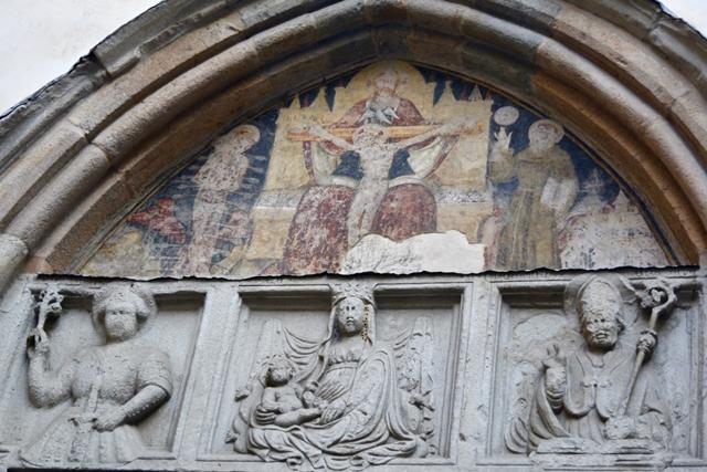 Portale della Chiesa di San Pancrazio