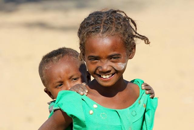 Bambini Anakao Madagascar