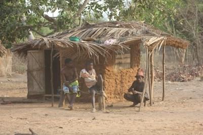 Madagascar - Morondava - Abitazione tipica
