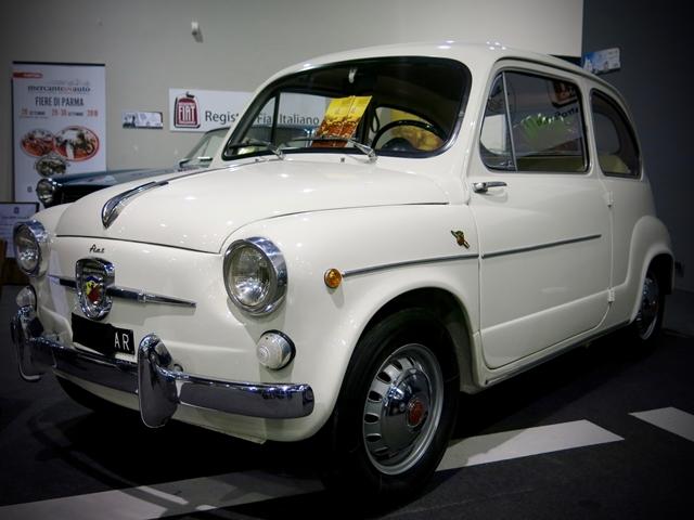 Arezzo Classic Motors - Fiat 600 Abarth - 1963