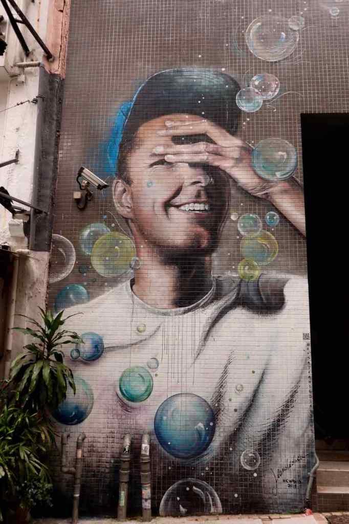 Street art Xianggang