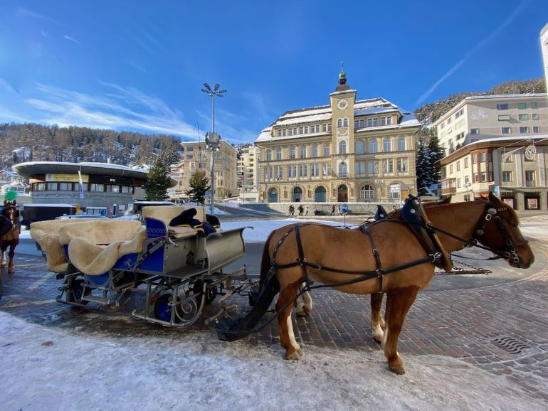 St. Moritz Svizzera