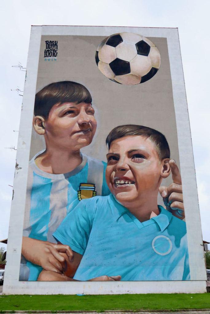 Giulio Rosk Gebbia e Mirko Loste Cavallotto Napoli e la street art Napoli tour murales