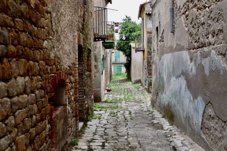 Paese fantasma Campania