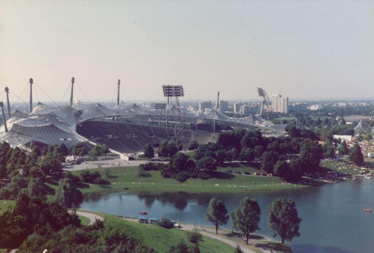 Olympiapark il mio primo viaggio