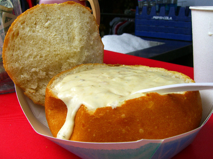 clam chowder mangiare e vedere a san francisco
