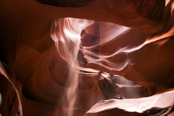 upper canyon attenzione alla polvere
