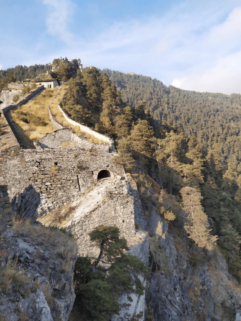 forte di fenestrelle grande muraglia italiana