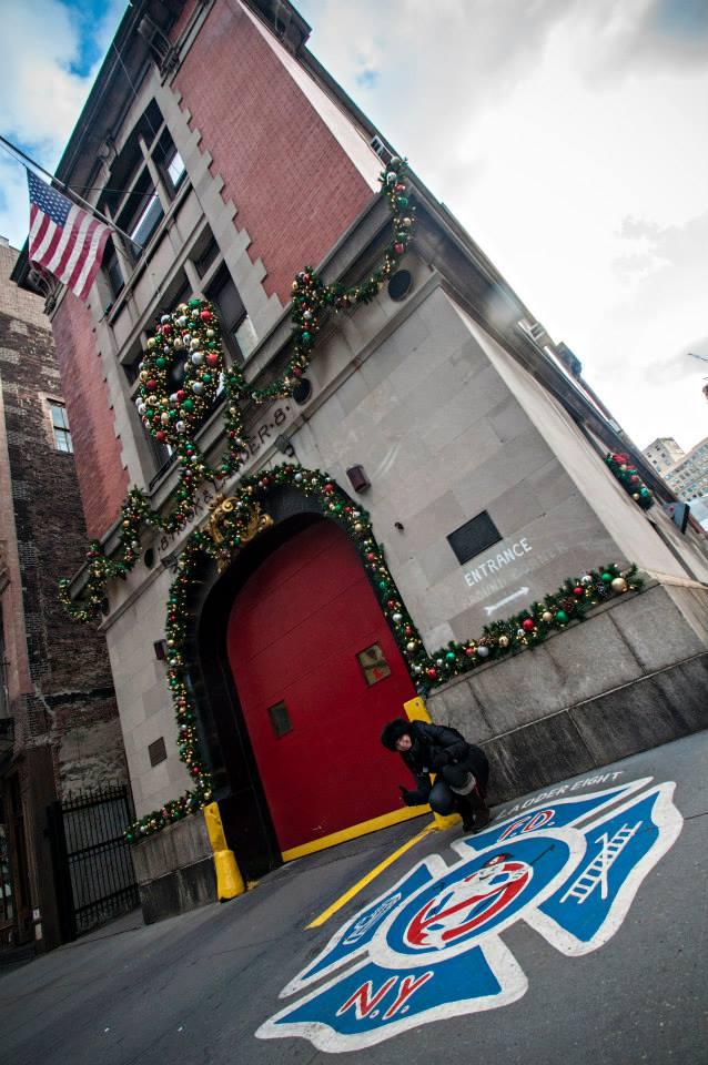 ghostbusters film set new york gratis