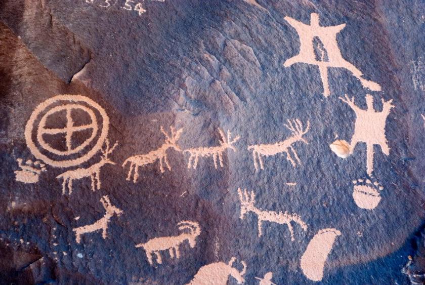meraviglie naturali americane arte rupestre