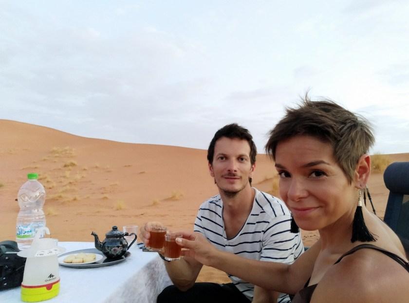 itinerario in marocco ad agosto - una notte nel deserto