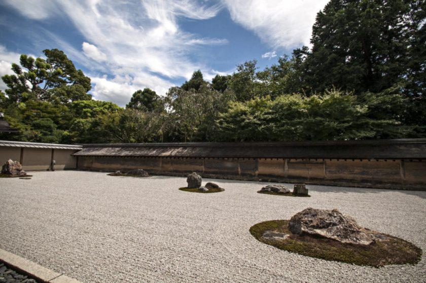 giardino zen visitare kyoto