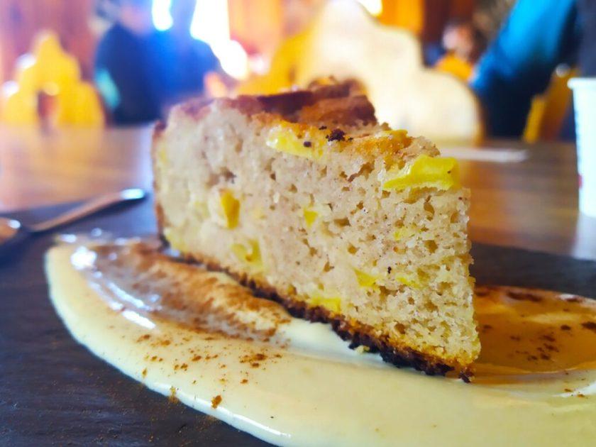 La torta del Rifugio Quinto Alpini