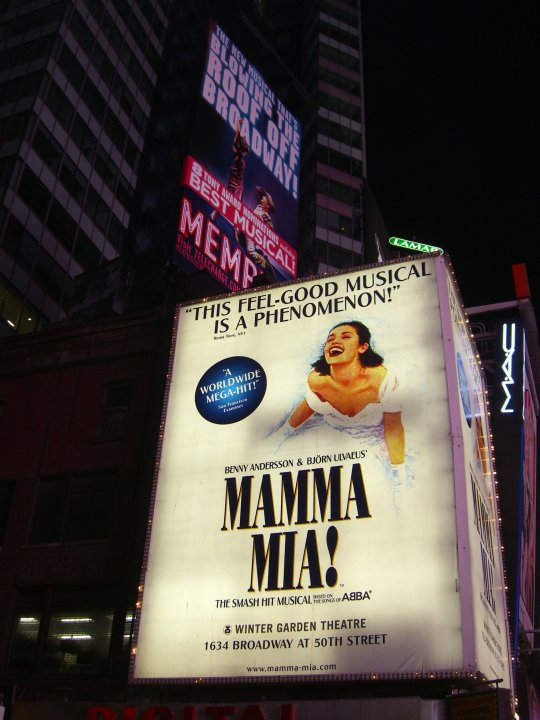 BROADWAY NEW YORK MUSICAL Andare a New York