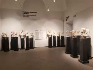 Museo Palatino, Sala del Palazzo Imperiale, i Ritratti