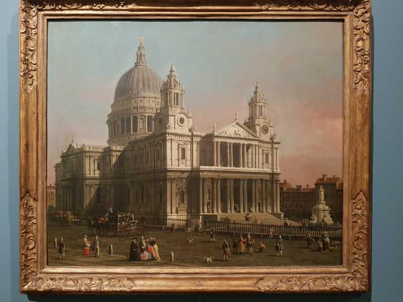 Canaletto, La Cattedrale di Saint Paul, Londra