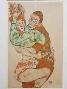 Egon Schiele, Love act