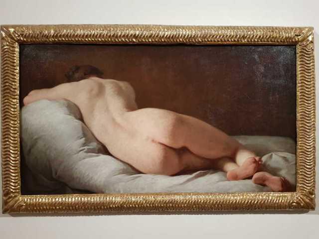 Pierre Subleyras, Nudo femminile di schiena