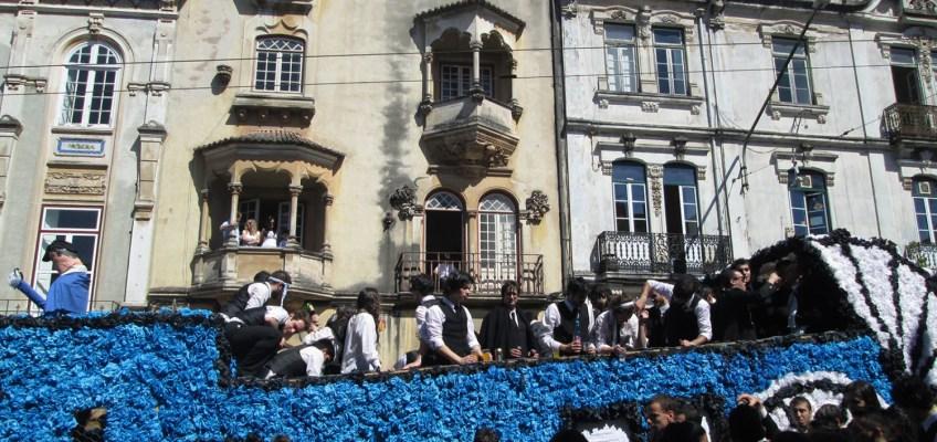 La Queima das Fitas di Coimbra