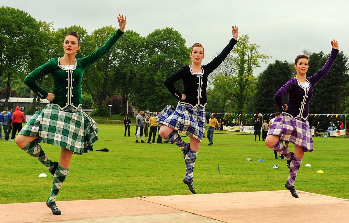 In Scozia per gli Highland Games