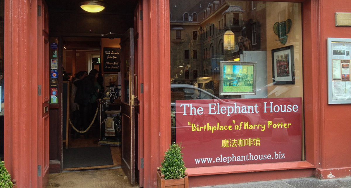 Alla scoperta di Harry Potter: Elephant House