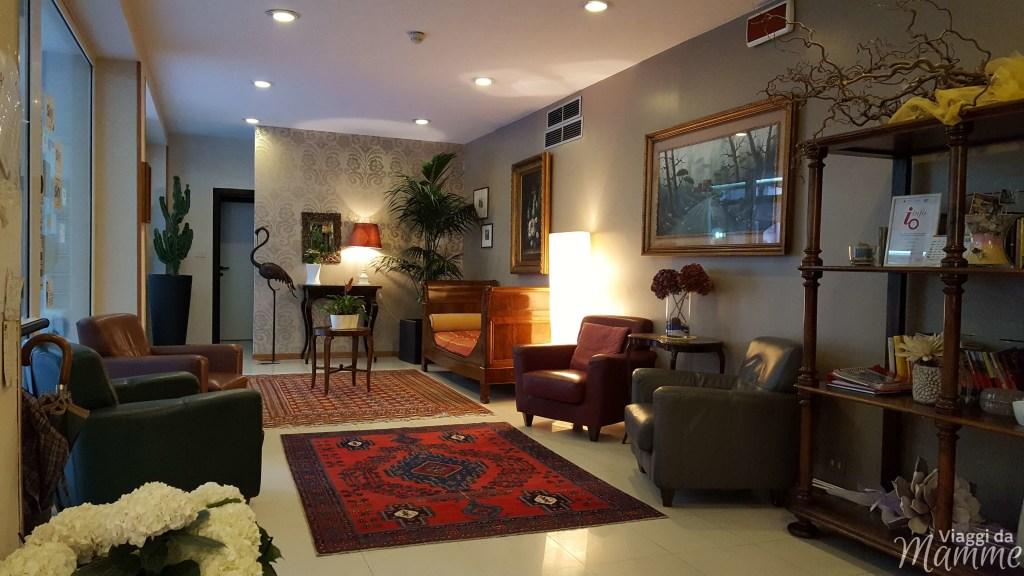 Hotel Airone Rimini: un albergo per famiglie nella Riviera Romagnola -sala interna dell'hotel-