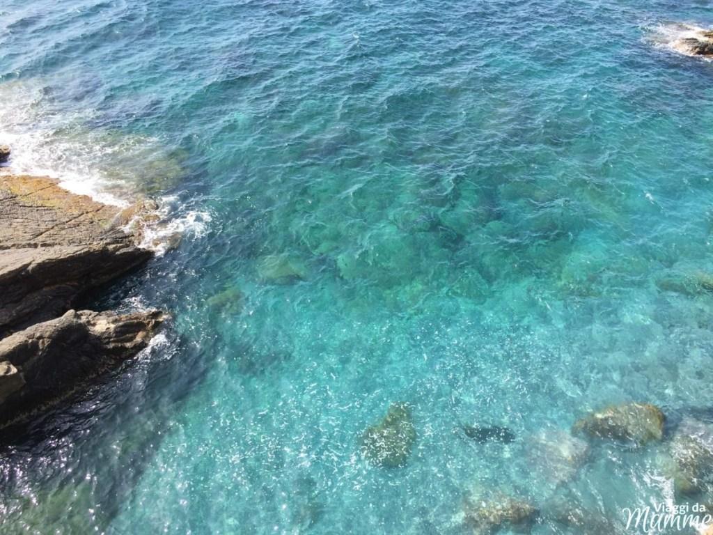 La passeggiata di Nervi sul mare cosa vedere oltre a Genova -mare a Nervi-