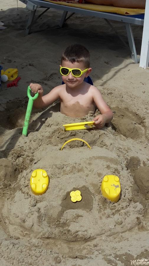 Vacanza a Riccione con bambini: parchi divertimento e mare