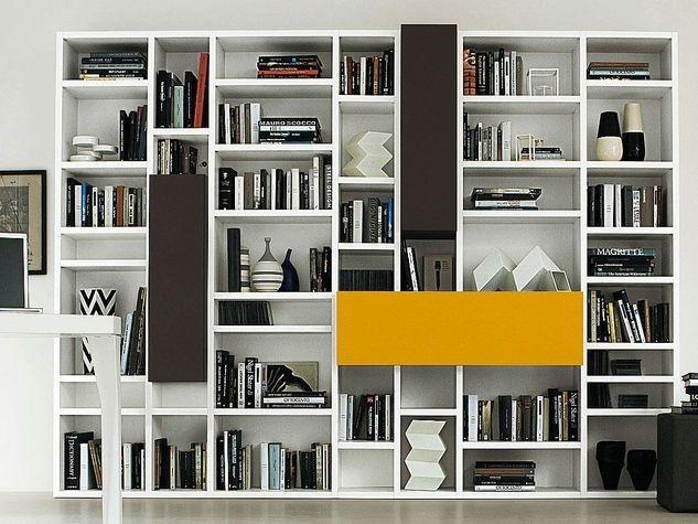 Libreria soggiorno: quale scegliere? -foto fonte Pinterest-
