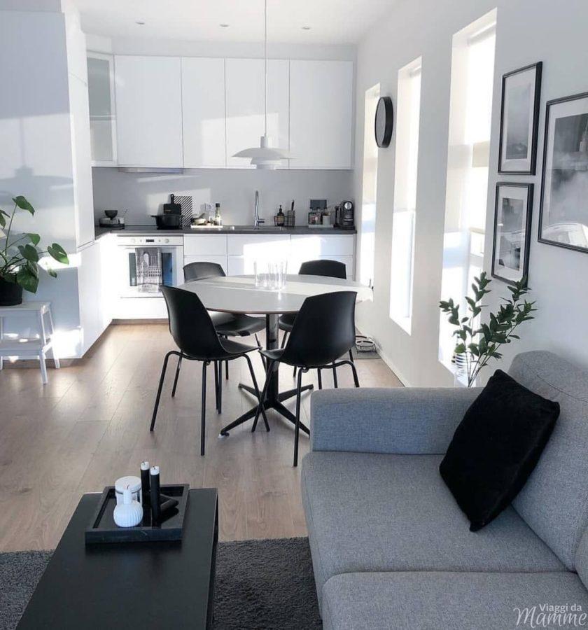 Come scegliere la cucina ideale -cucina composizione ad angolo- Fonte Pinterest