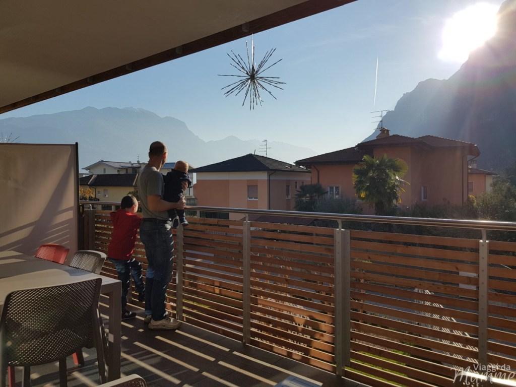 Casa di Babbo Natale a Riva del Garda e Accademia degli Elfi -panorama dal GardaBreak Rooms&Breakfast-