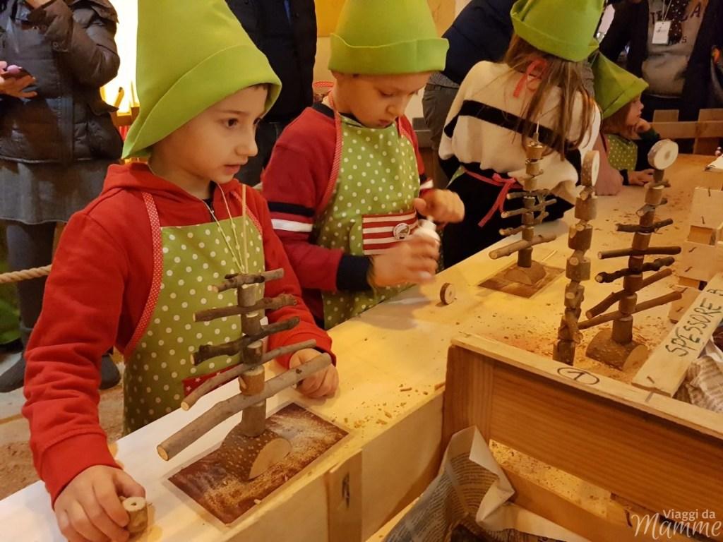 Laboratorio per diventare Elfo Falegname