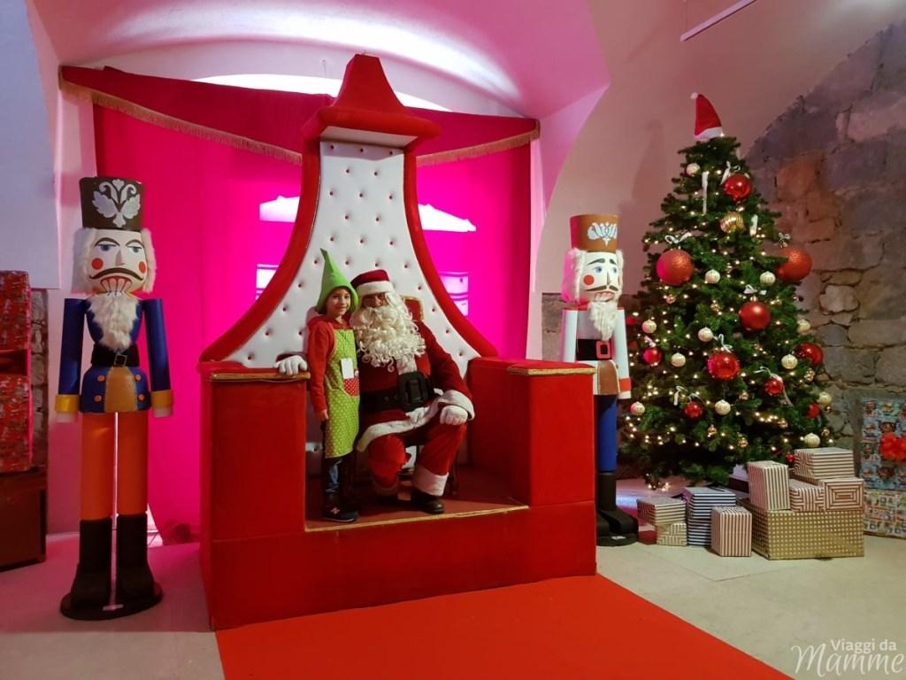 Casa di Babbo Natale a Riva del Garda e Accademia degli Elfi