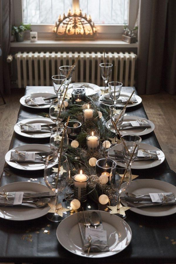 Come apparecchiare la tavola di Natale: decori e abbinamenti -Foto fonte Pinterest-