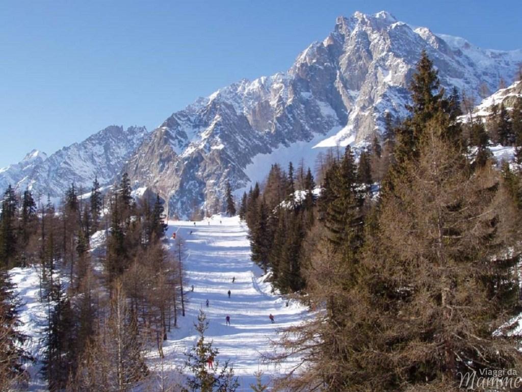 Cosa vedere in Valle d'Aosta con bambini: Courmayeur e dintorni -Monte Bianco da Pra_Neyron-