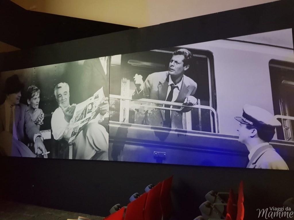 Museo Ferroviario di Pietrarsa e la storia del treno -quinto padiglione-