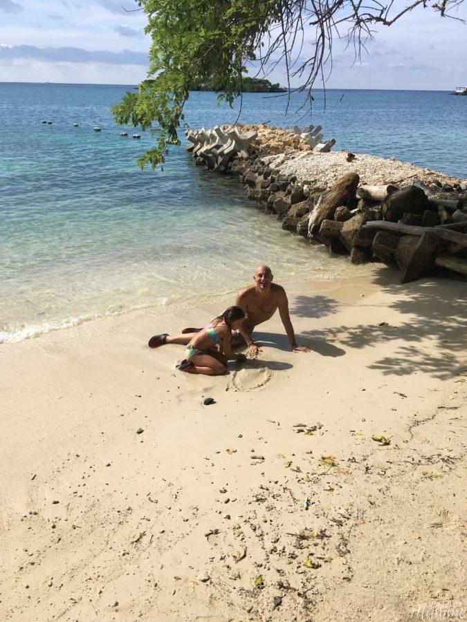 Viaggio in Colombia con bambini lungo la costa caraibica -Spiaggia Hotel San Pedro de Majagua