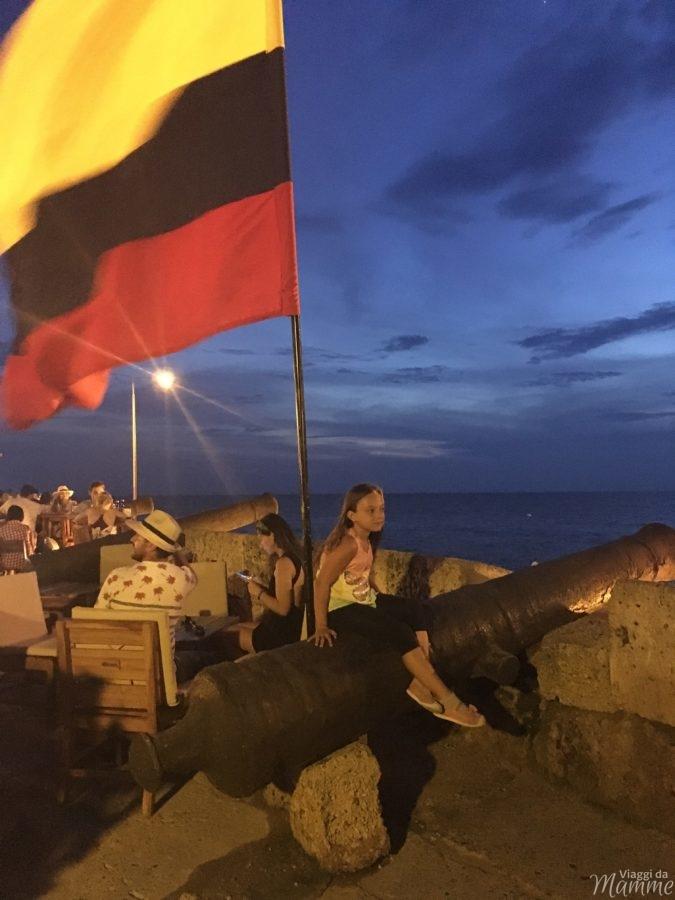 Viaggio in Colombia con bambini lungo la costa caraibica -Cartagena de Indias