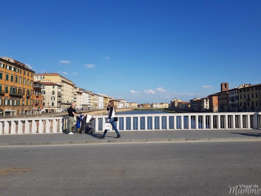 Cosa visitare a Pisa in un giorno con bambini - Ponte di Mezzo