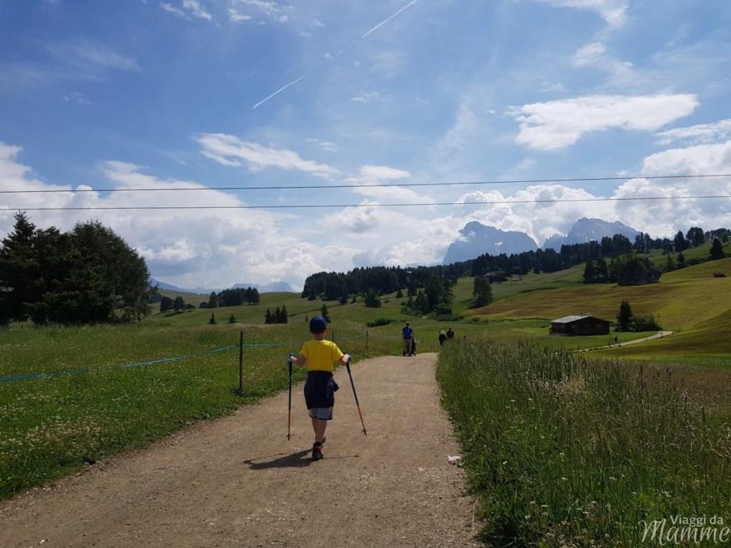 Alpe di Siusi estate: una giornata per malghe con bambini