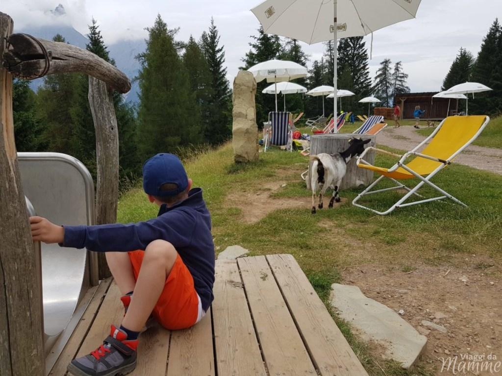 Marinzen: la piccola Alpe ideale per bambini sopra Castelrotto