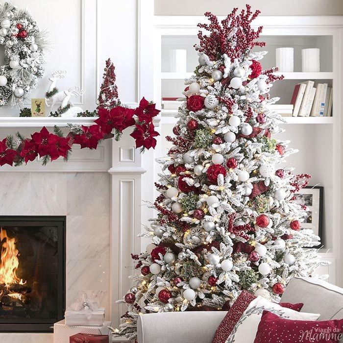 Alberi Di Natale Addobbati Eleganti.Come Addobbare L Albero Di Natale Per Renderlo Favoloso