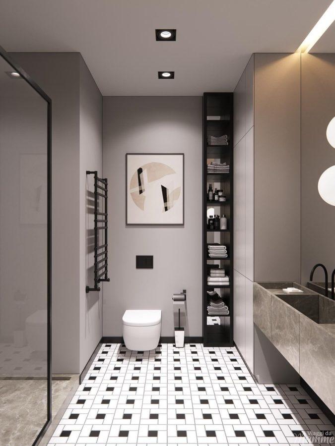 Progettazione del bagno piccolo