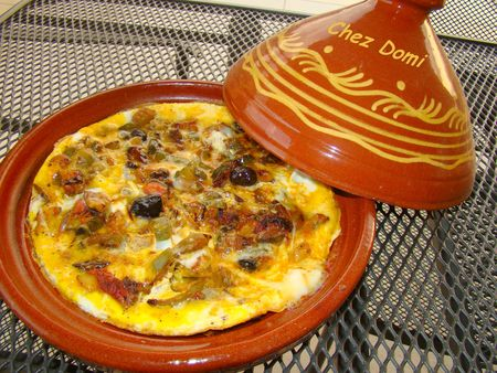 Mangiare in Marocco, la frittata berbera