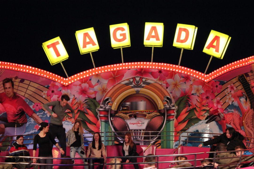 Il Tagadà del Prater di Vienna