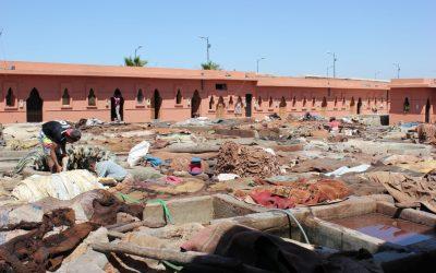 Il mercato delle pelli e le concerie di Marrakech, un'esperienza che ritorna